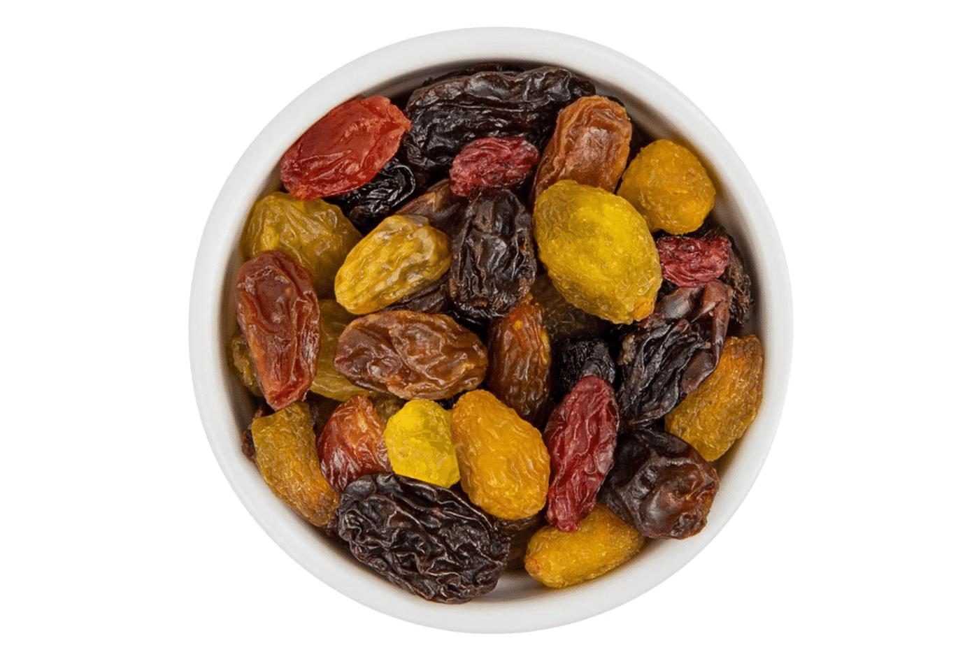 mélange de raisins secs